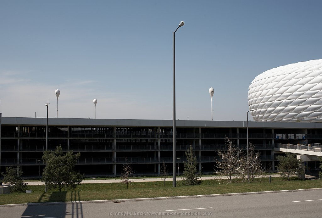 Parkhaus Allianz Arena